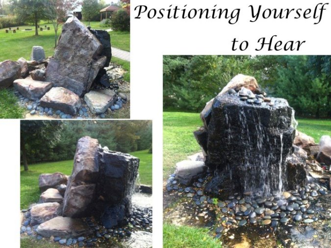 Positioning Yourself to Hear