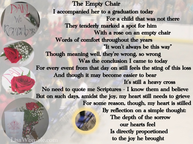 The Empty Chair (a poem in remembrance of my nephew, and in love to my sister) August 29, 2011