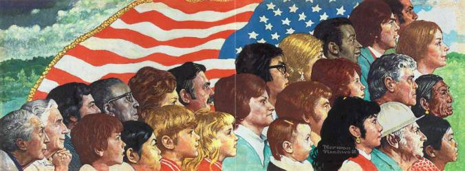 "Norman Rockwell's ""America"""