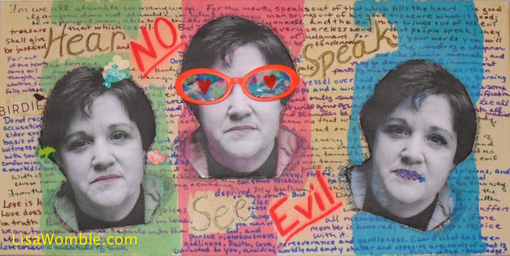 Hear No Evil - See No Evil - Speak No Evil